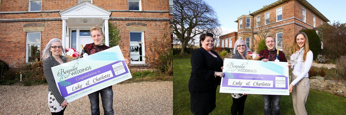 Bespoke Win a Wedding Competition at Shottle Hall