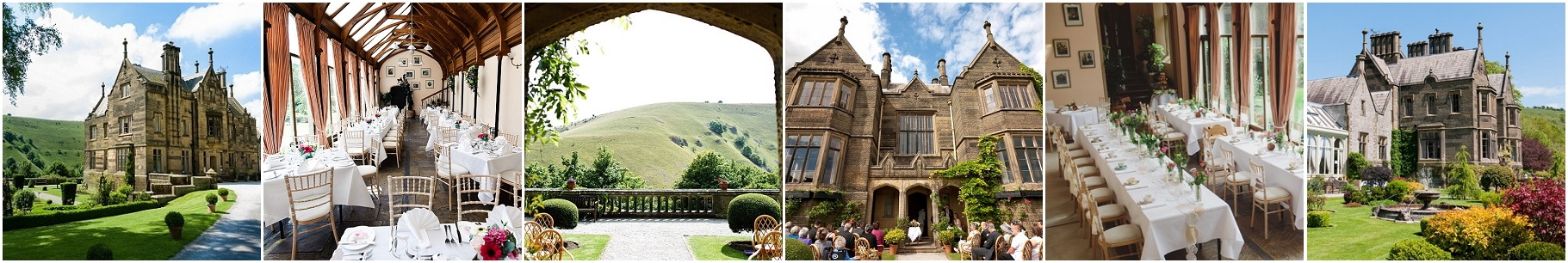 Cressbrook Hall Photos- Derbyshire Wedding Venues