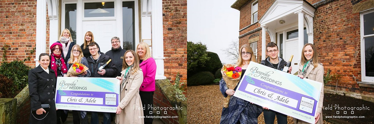 Chris & Adele- Coach House at Shottle Hall