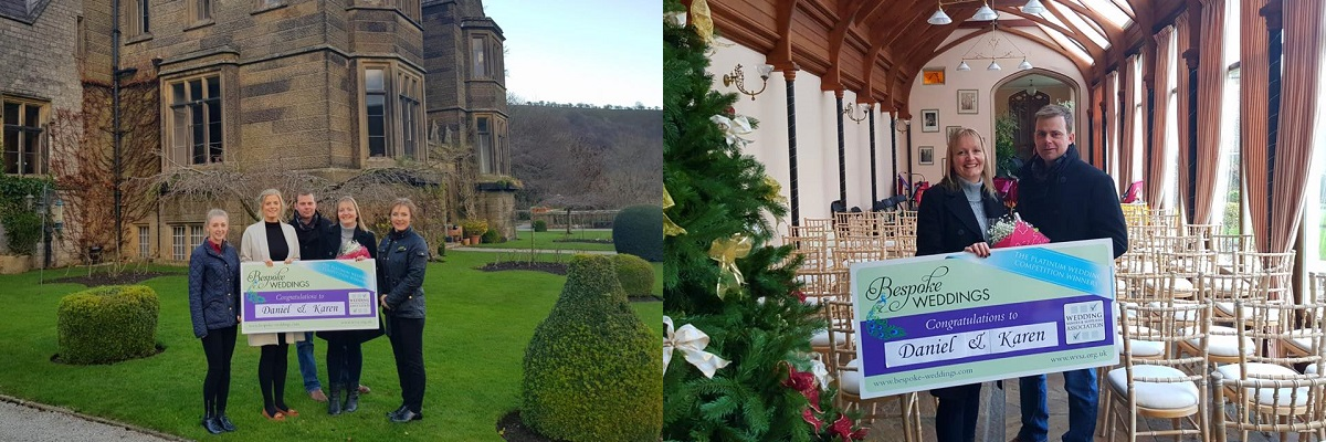 Bespoke Competition Winners at Cressbrook Hall