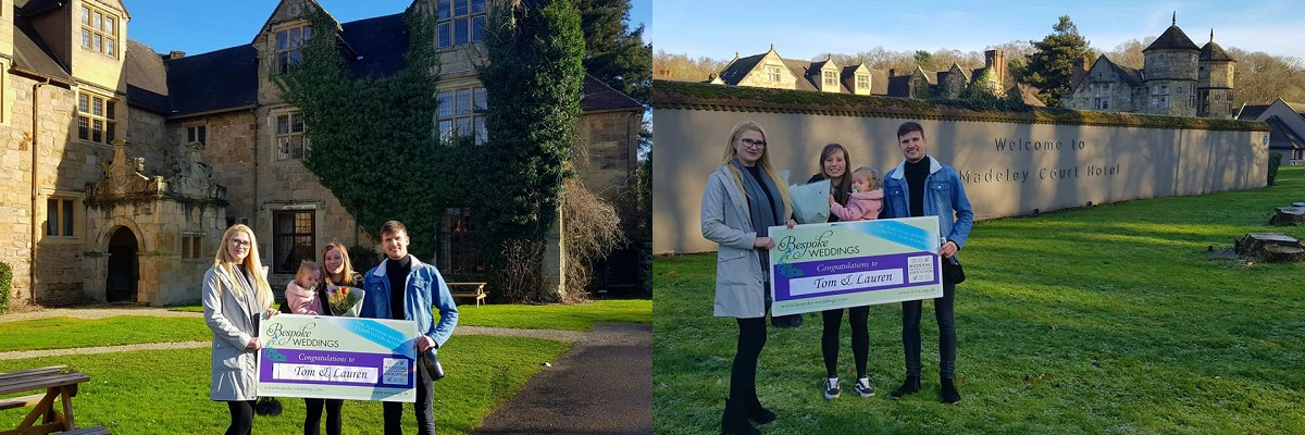 Bespoke Competition Winners at Madeley Court